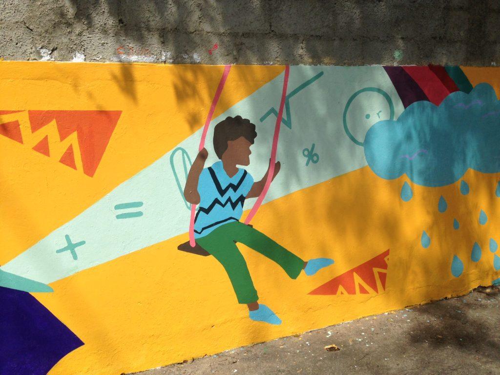 Padre Arias Mural