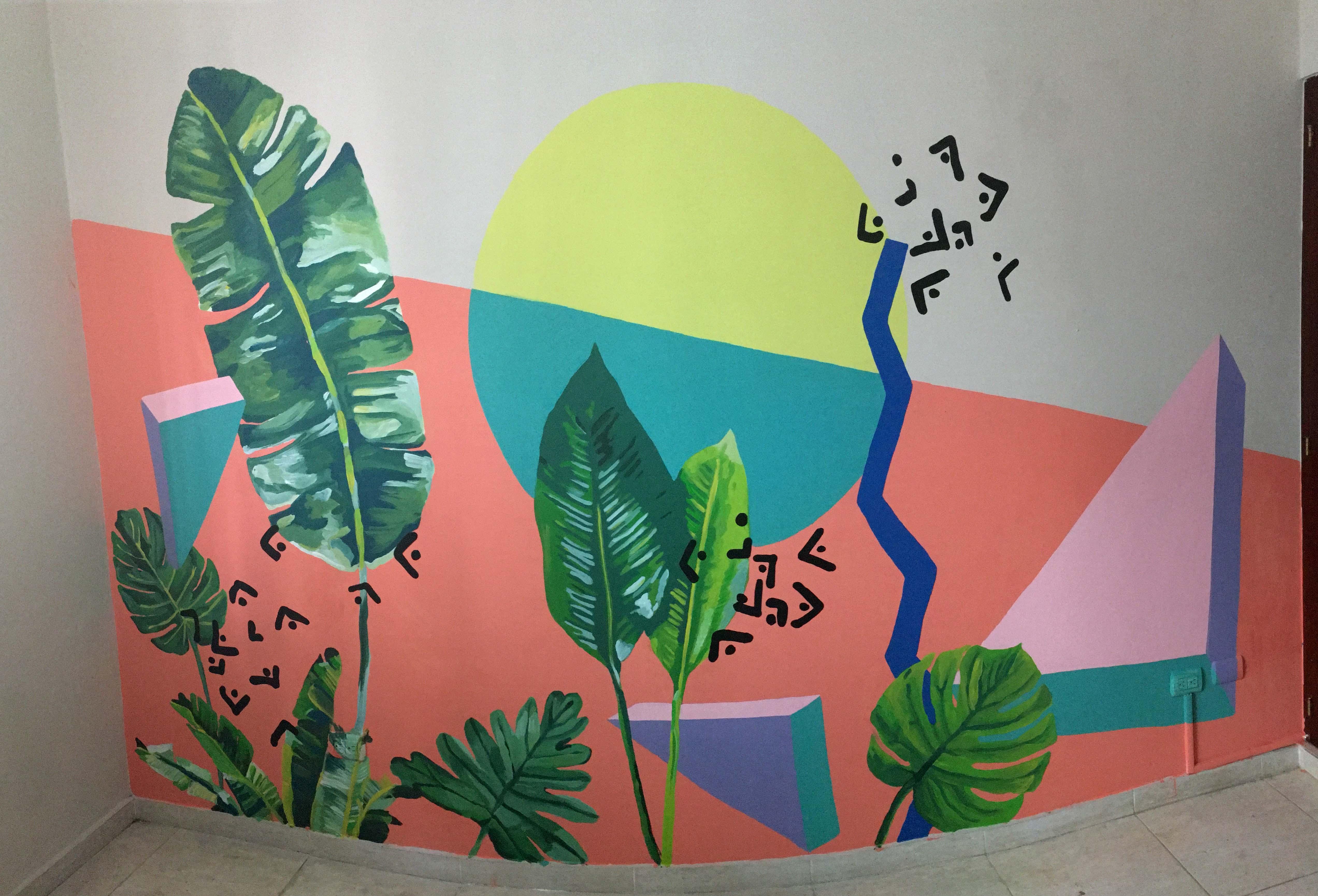 Interior Mural