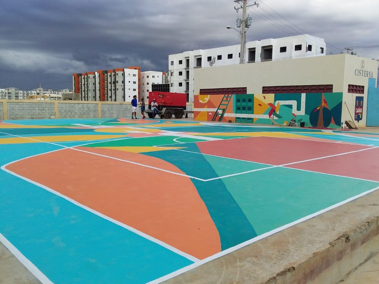 Basketball Court 2